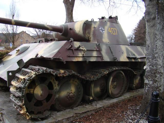 Le panther de grandmesnil - Belgique A-char14