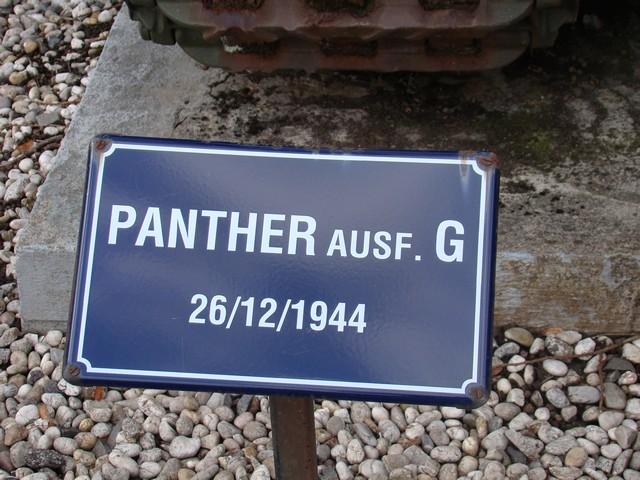 Le panther de grandmesnil - Belgique A-char15
