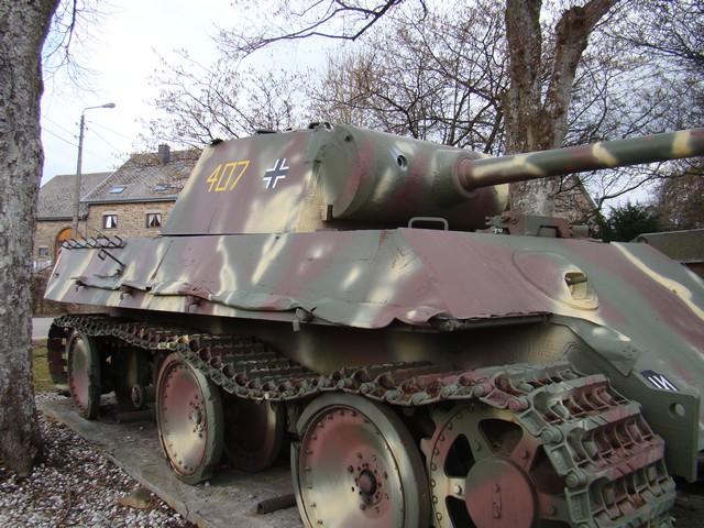 Le panther de grandmesnil - Belgique A-char17