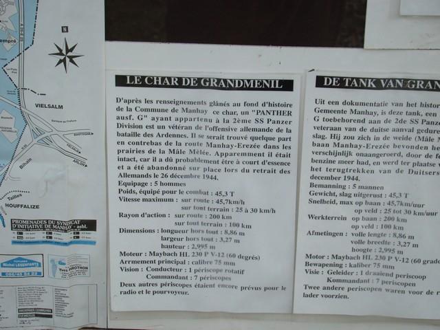 Le panther de grandmesnil - Belgique A-char22