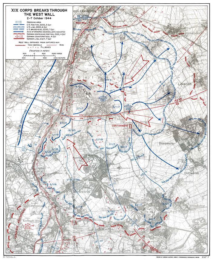 Bataille d'Aix-la-Chapelle - 2/21 octobre 1944 Aachen10