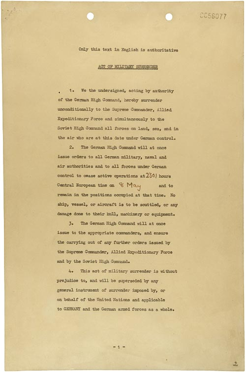 Les Actes de capitulation du Troisième Reich Act_of10
