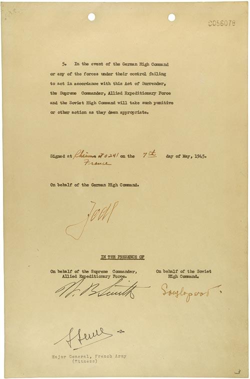 Les Actes de capitulation du Troisième Reich Act_of11