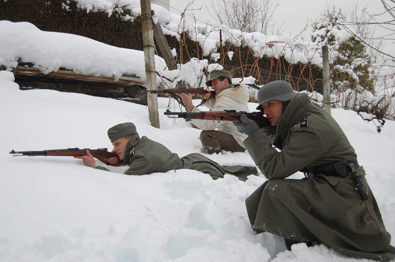 Photos Reconstit Waffen SS - Hiver Addest10