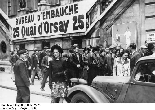 Reportage - PARIS sous l'occupation Athene11