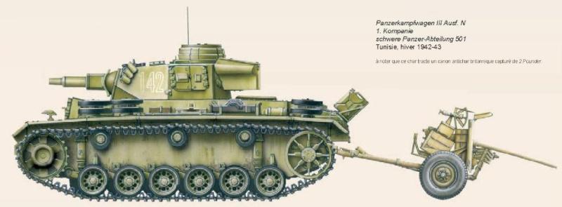 Panzerkampfwagen - Panzer III Batail13