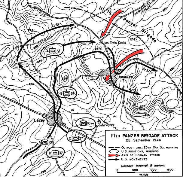 Bataille d'Arracourt - Sept 1944 Batail14