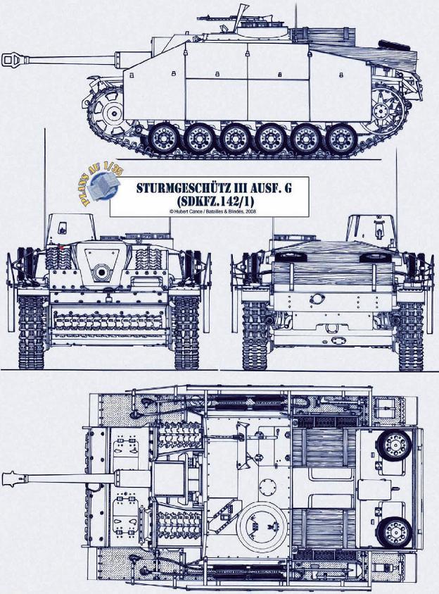Sturmgeschütz III Batail16
