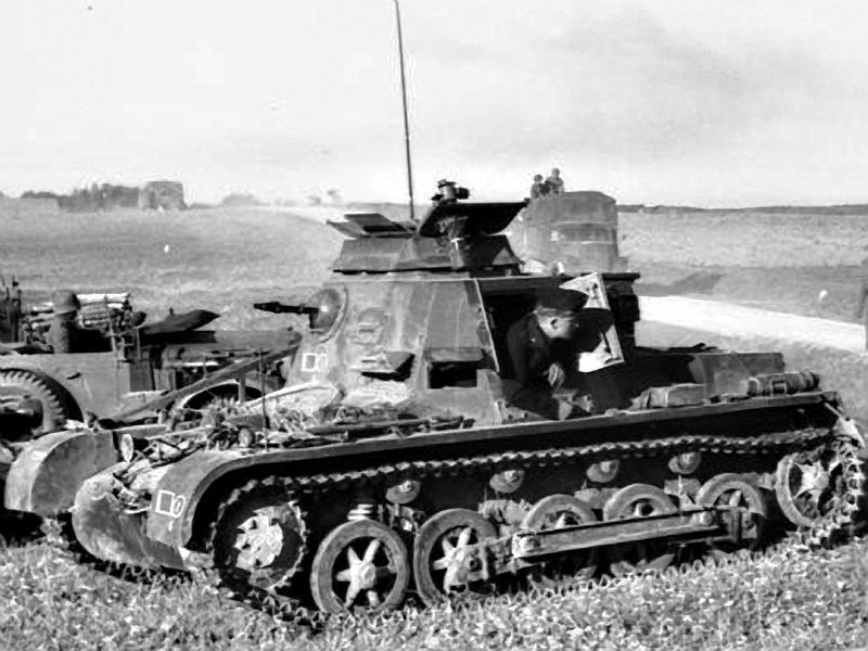 Panzerkampfwagen I - Panzer I Befehl11