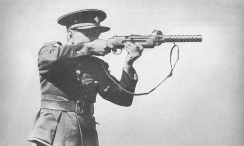 Maschinenpistole 18 - MP 18 Bergma10