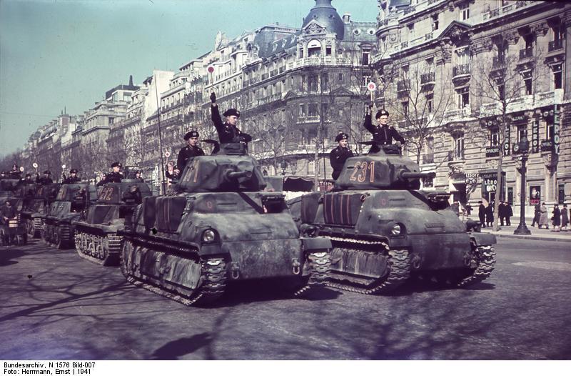 Reportage - PARIS sous l'occupation Beute210