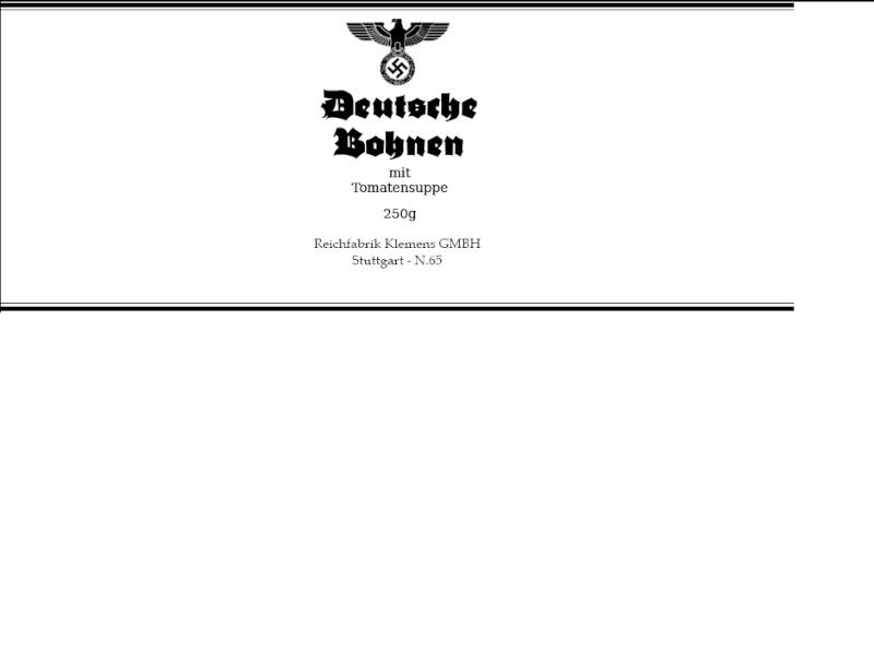 A LA BOUFFE !!!! - Heer/Waffen Bohnen10