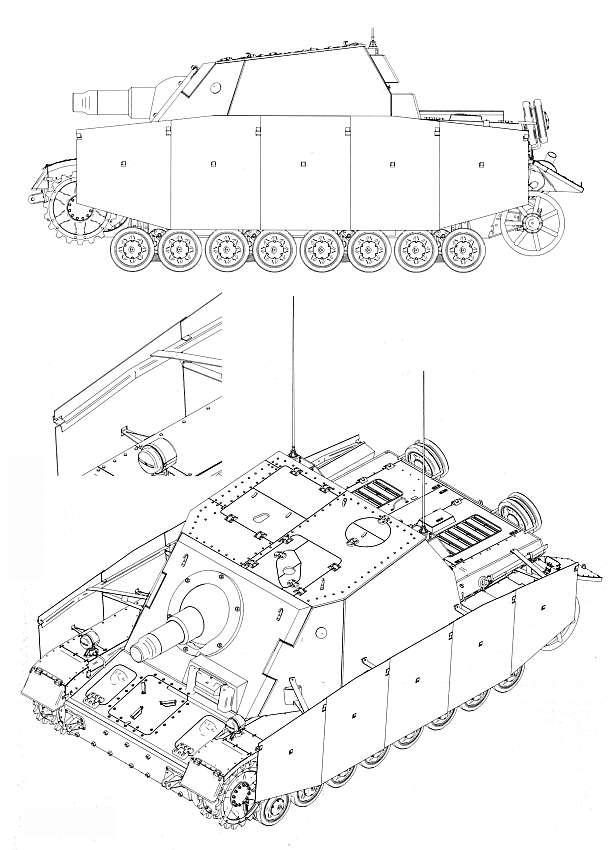 Sturmpanzer IV - Brummbär ! Brummb10