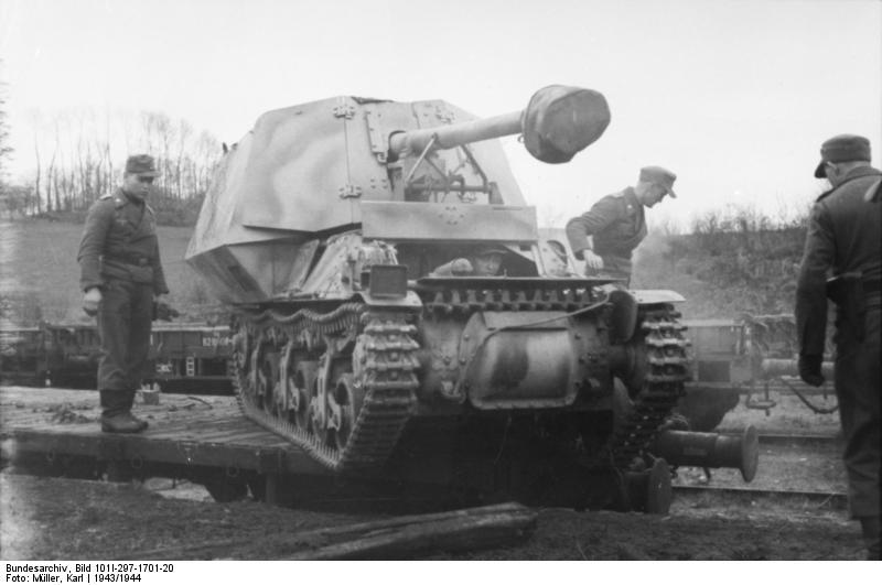 Reportage Bundesarchiv - Panzerjäger Marder I Bunde122
