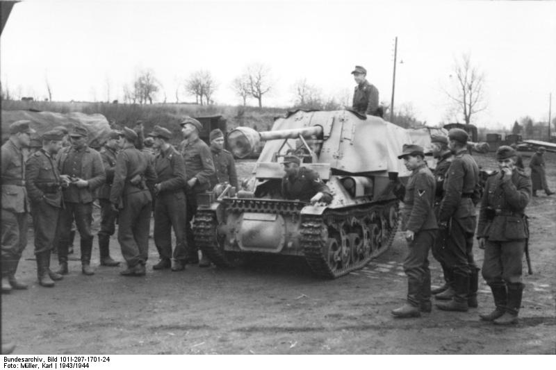 Reportage Bundesarchiv - Panzerjäger Marder I Bunde123