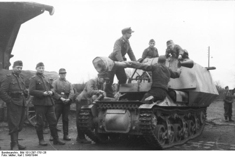 Reportage Bundesarchiv - Panzerjäger Marder I Bunde124
