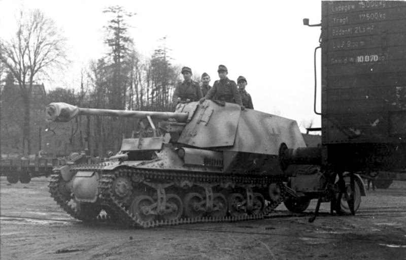 Reportage Bundesarchiv - Panzerjäger Marder I Bunde125