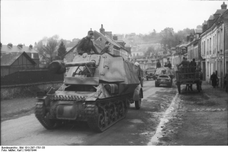 Reportage Bundesarchiv - Panzerjäger Marder I Bunde126