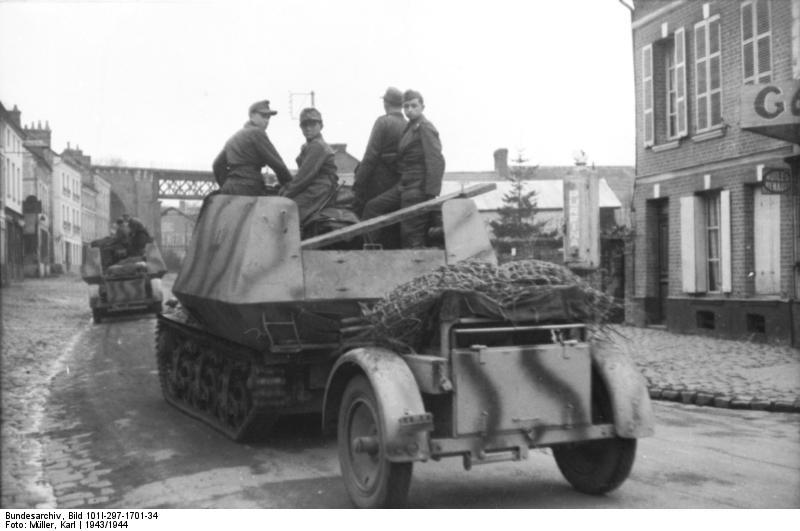 Reportage Bundesarchiv - Panzerjäger Marder I Bunde127