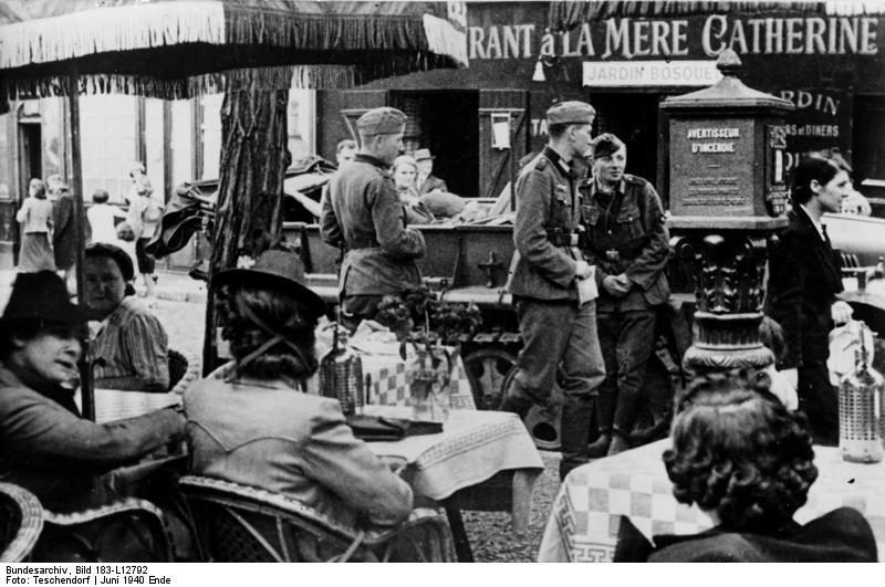 Reportage - PARIS sous l'occupation Bunde128