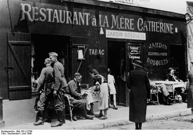 Reportage - PARIS sous l'occupation Bunde142