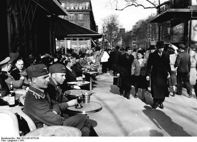 Reportage - PARIS sous l'occupation Bunde145