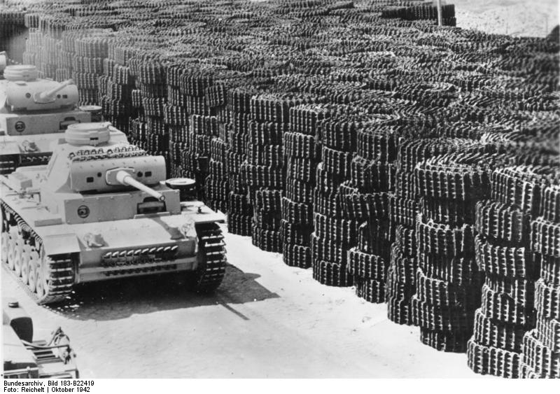 La Production des Panzer Bunde156