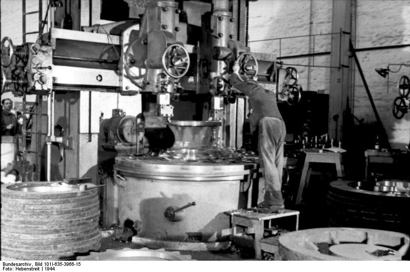 La Production des Panzer Bunde157