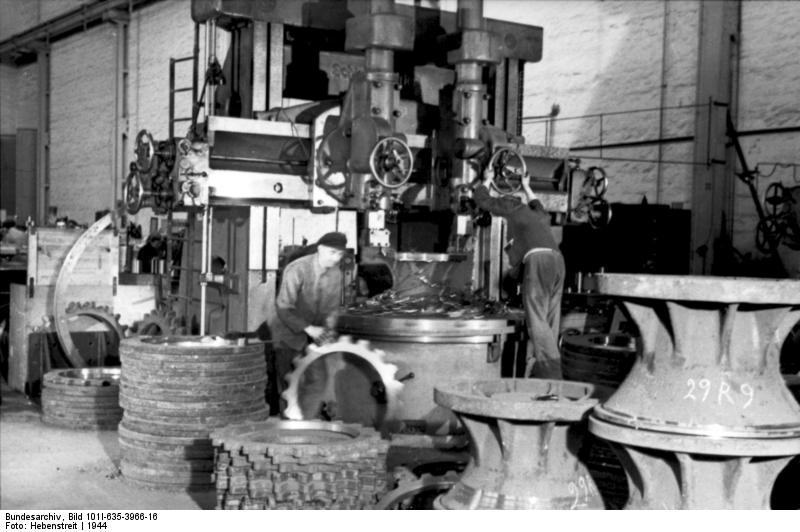 La Production des Panzer Bunde158
