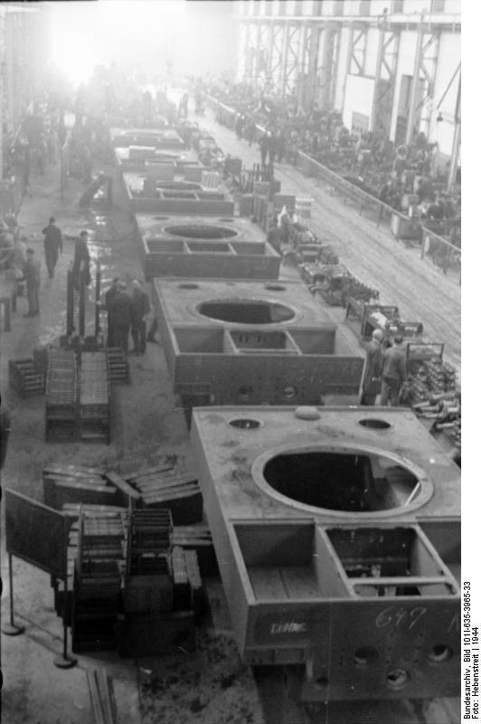 La Production des Panzer Bunde160
