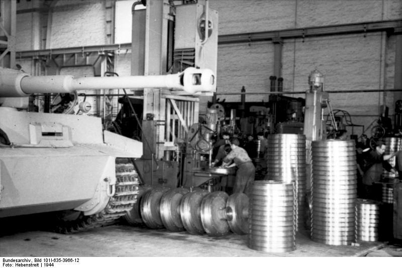 La Production des Panzer Bunde161