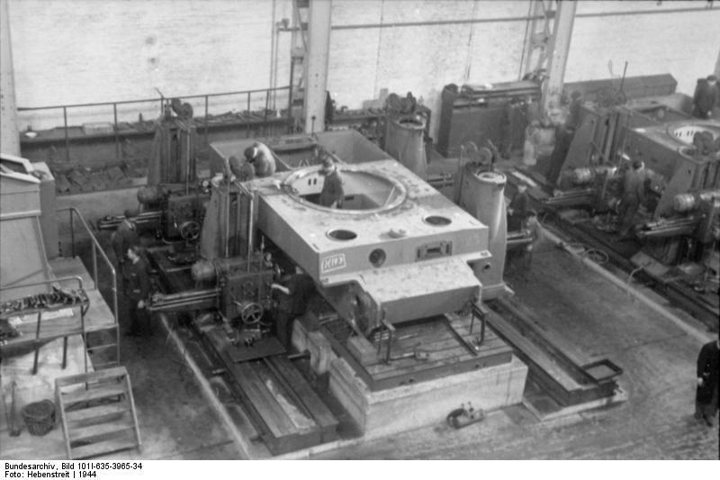 La Production des Panzer Bunde162
