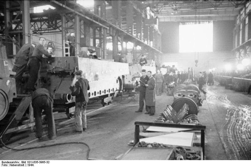 La Production des Panzer Bunde164