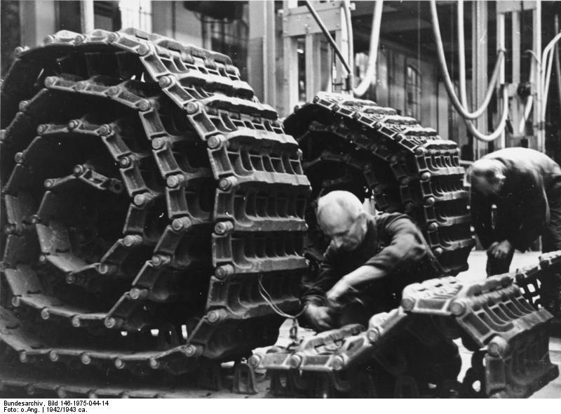 La Production des Panzer Bunde165