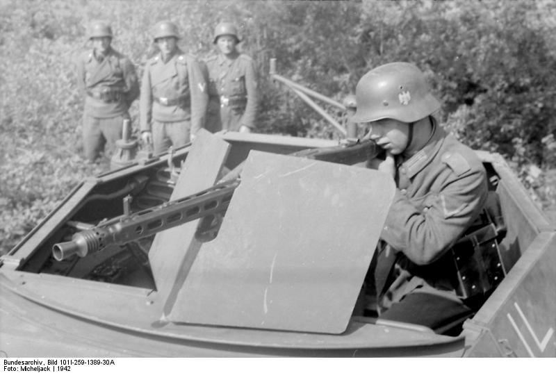 Maschinengewehr 42 - MG42 Bundes10