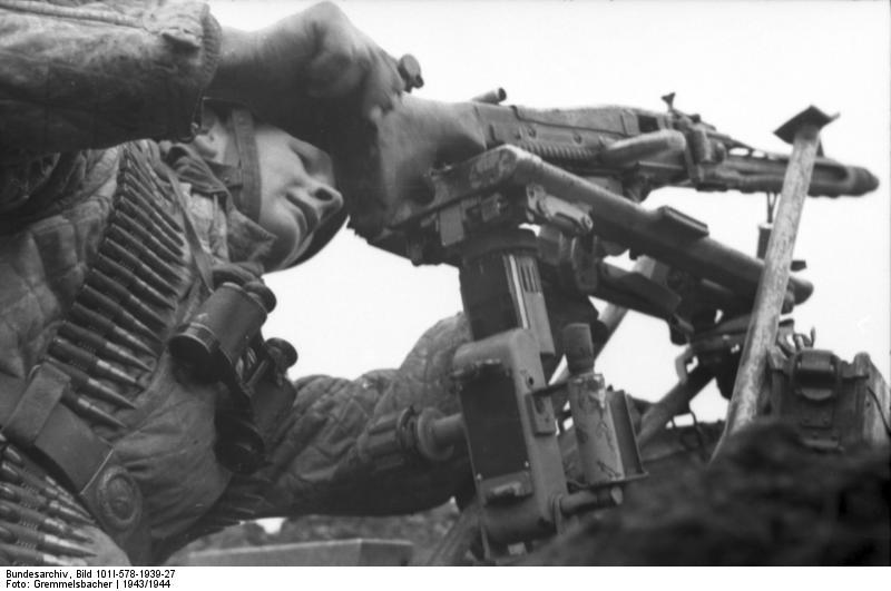 Maschinengewehr 42 - MG42 Bundes11
