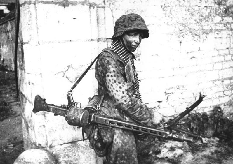 """Waffen SS - tenues camouflées dit """" Petit Pois """" Bundes13"""