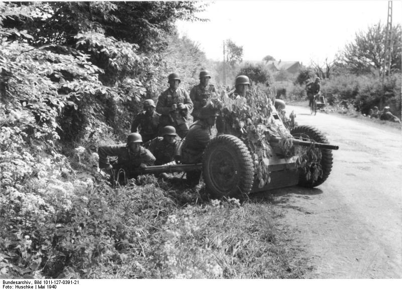 Pak 36 (Panzerabwehrkanone 36) - 37 mm Bundes18