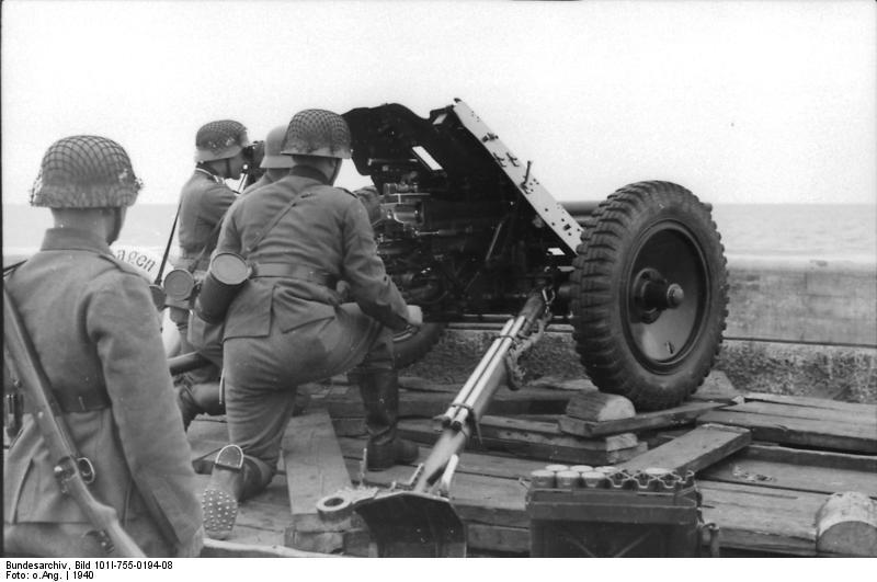 Pak 36 (Panzerabwehrkanone 36) - 37 mm Bundes19