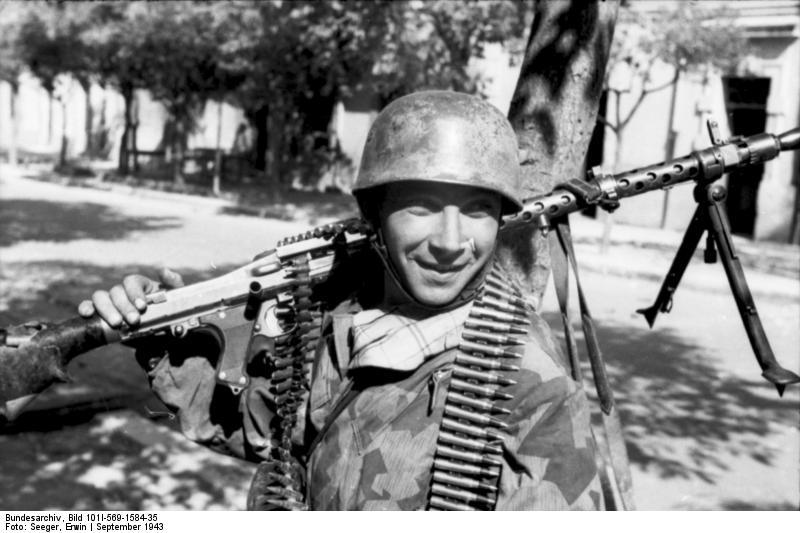 Maschinengewehr 34 - MG34 Bundes25