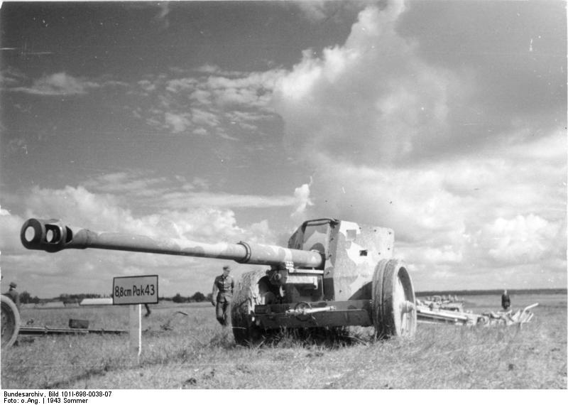 Pak 43 (Panzerabwehrkanone 43) - 88 mm Bundes29