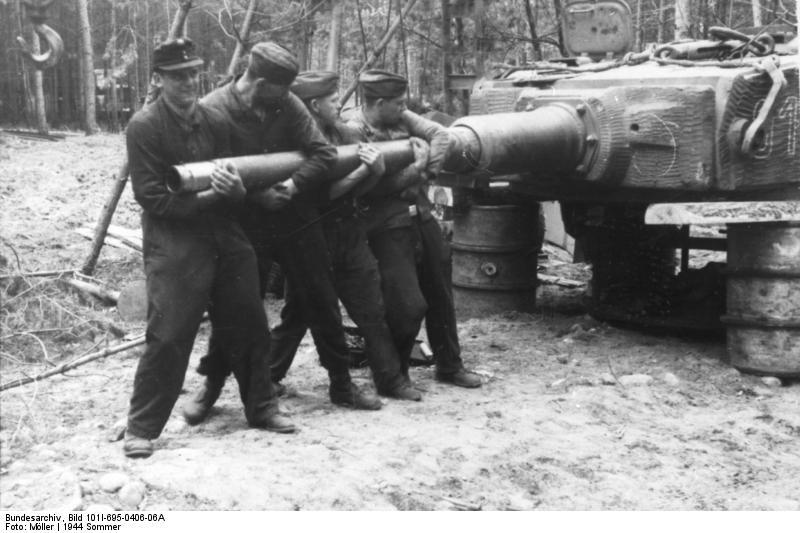 Waffen SS - les Equipages de Panzer - France 44 Bundes36