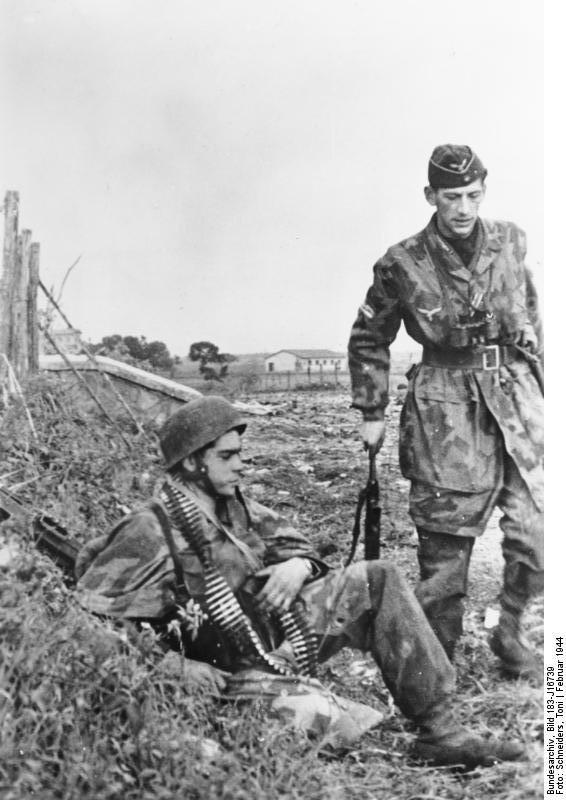 Historique des Fallschirmjager WW2 Bundes44
