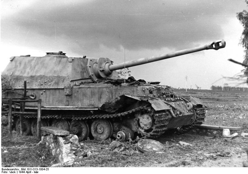 Panzerjäger Tiger Elefant/Ferdinant Bundes51