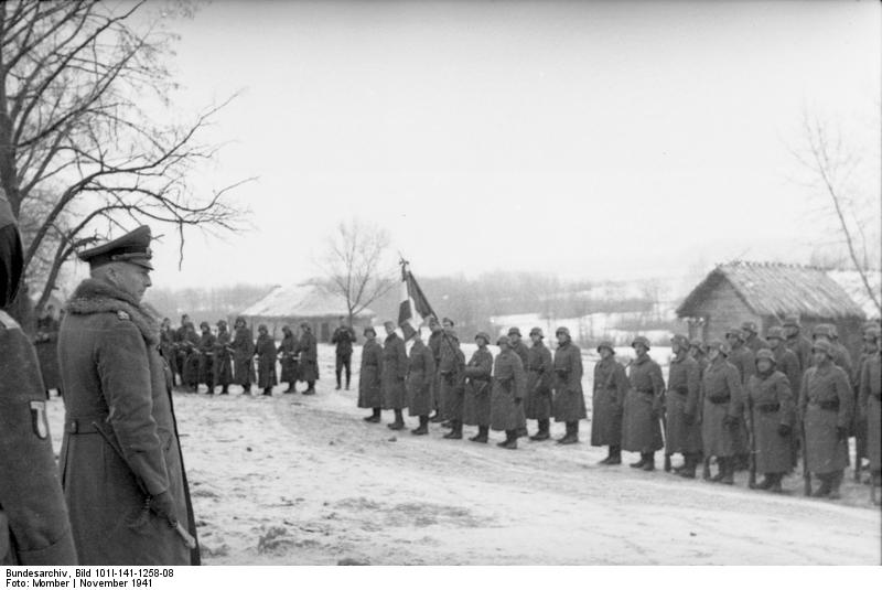bundesarchiv - LVF - Novembre 1941 Bundes92