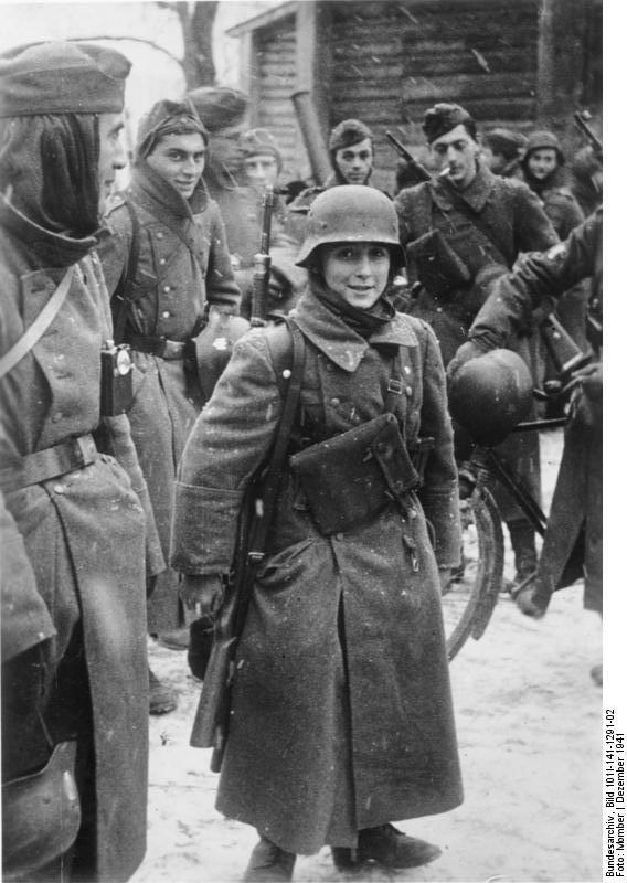 bundesarchiv - LVF - Novembre 1941 Bundes95
