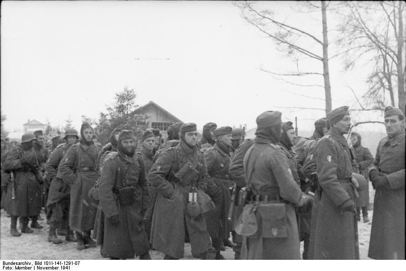 bundesarchiv - LVF - Novembre 1941 Bundes96