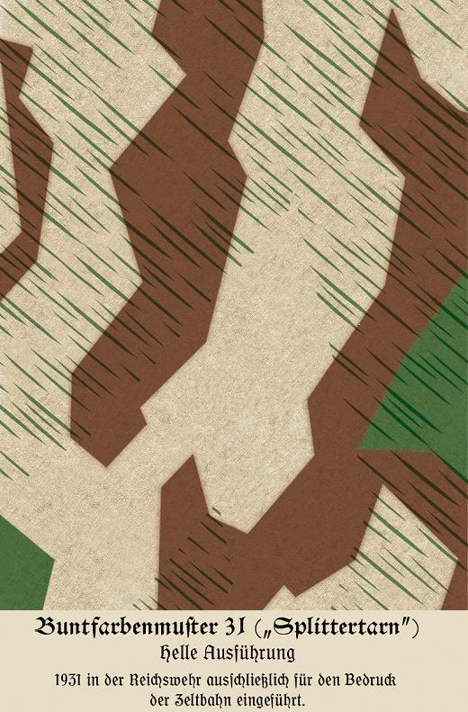 HEER - Splittermuster - Splinter Camouflage Buntfa10