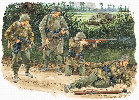 PanzerGrenadier - Kampfgruppe Von Luck - Normandie 44 C_dra610