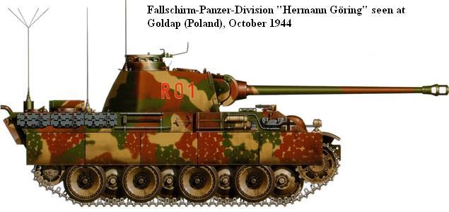 "Panzerdivision ""Hermann Göring"" Camo-f10"